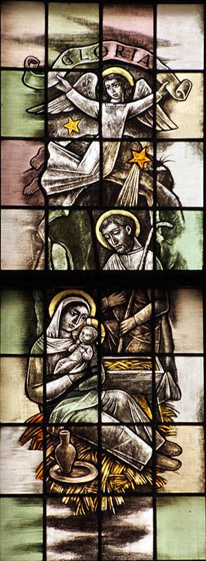 3. die ontvangen is van de heilige Geest, geboren uit de maagd Maria
