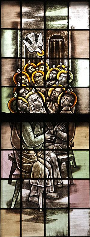 8. Ik geloof in de heilige Geest (rechts)