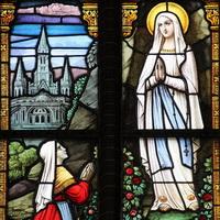 17 Raam (1877) Verschijning Maria aan Bernadette 5173-4k_200pix