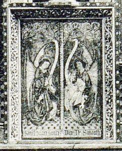 18 Historische foto uitsnede tabernakel