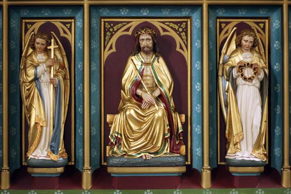 kruis, rietstaf (Christus), doornenkroon