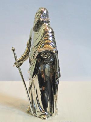 Paulus (20 cm) met zwaard Paulus, zijaanzicht