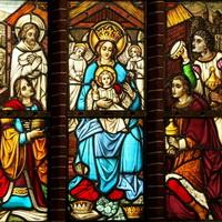 19-L-1 Raam links onder - Geboorte van Jezus 5326_4k_200pix
