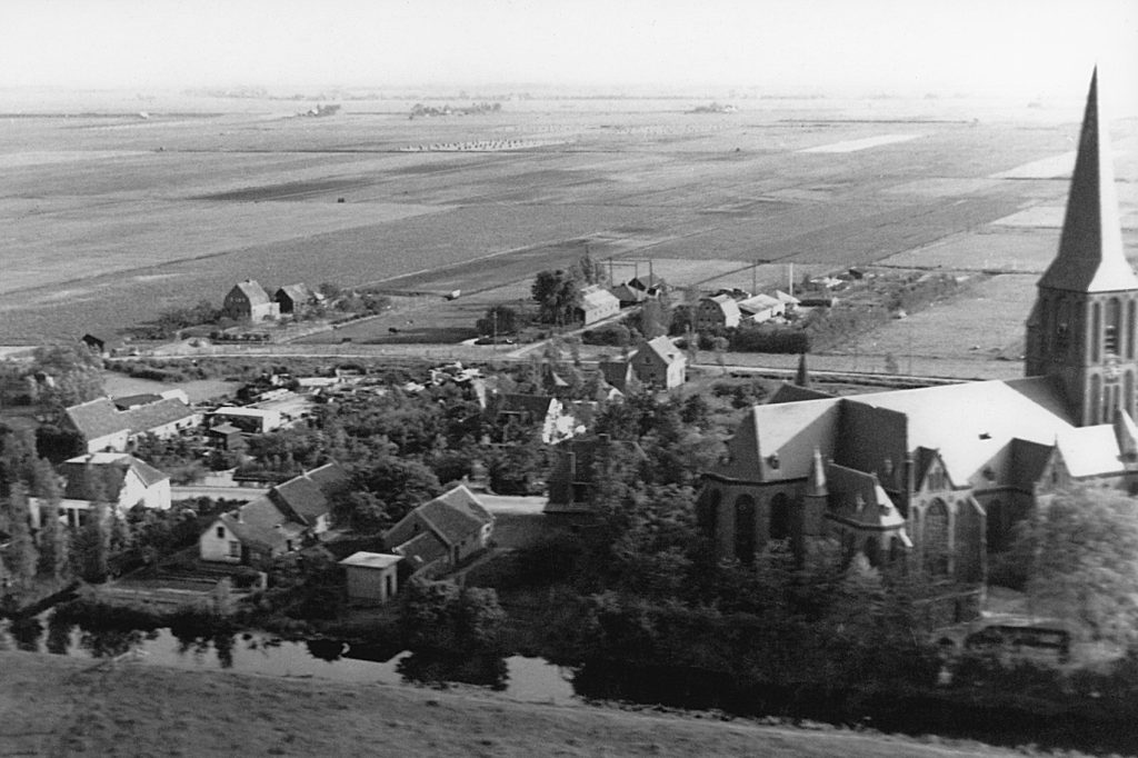 1950ca Wilnis luchtfoto-bron AvL--022 driehuis-e-1700pix