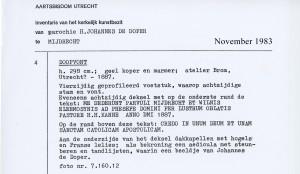 1983-11 Inventaris object Doopvont inv169