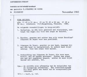 1983-11 Inventaris object Schrijnwerken inv169
