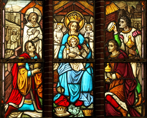 19l1 raam links onder geboorte van jezus 5326 620pix