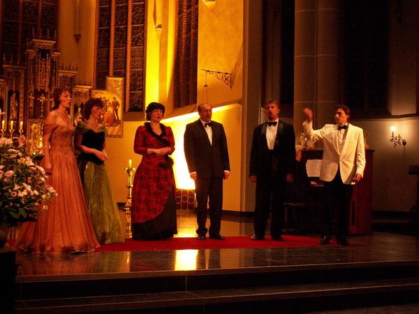 19 nov. 2005 Concert door het Neva Ensemble uit St. Petersburg foto Peter Forsthövel