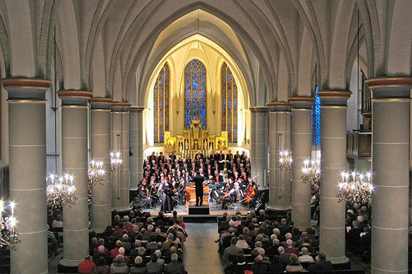 Vrijdag 7april 2006: Uitvoering van de Johannes Passion, J.S. Bach door c.o.v. Amicitia, Uithoorn.