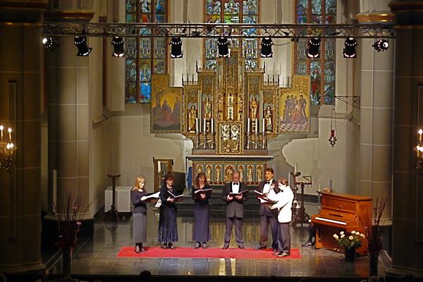 6 nov. 2008 Concert Neva Ensemble uit St. Petersburg foto Peter Forsthövel