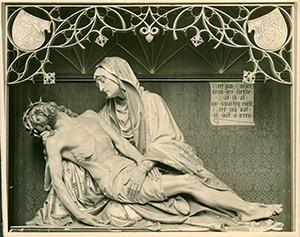 Piëta 1893, F. W. Mengelberg. Foto parochiearchief