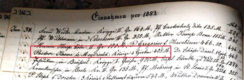 Kasboek Zrs vh Arme Kind Jezus januari 1882_1700pix