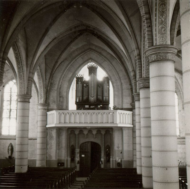 Mijdrecht - Sint Johannes de Doperkerk orgel achter