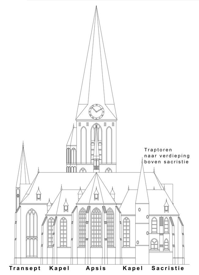 F:kerkbestuurtekeningenoostgevel.dwg Model (1)