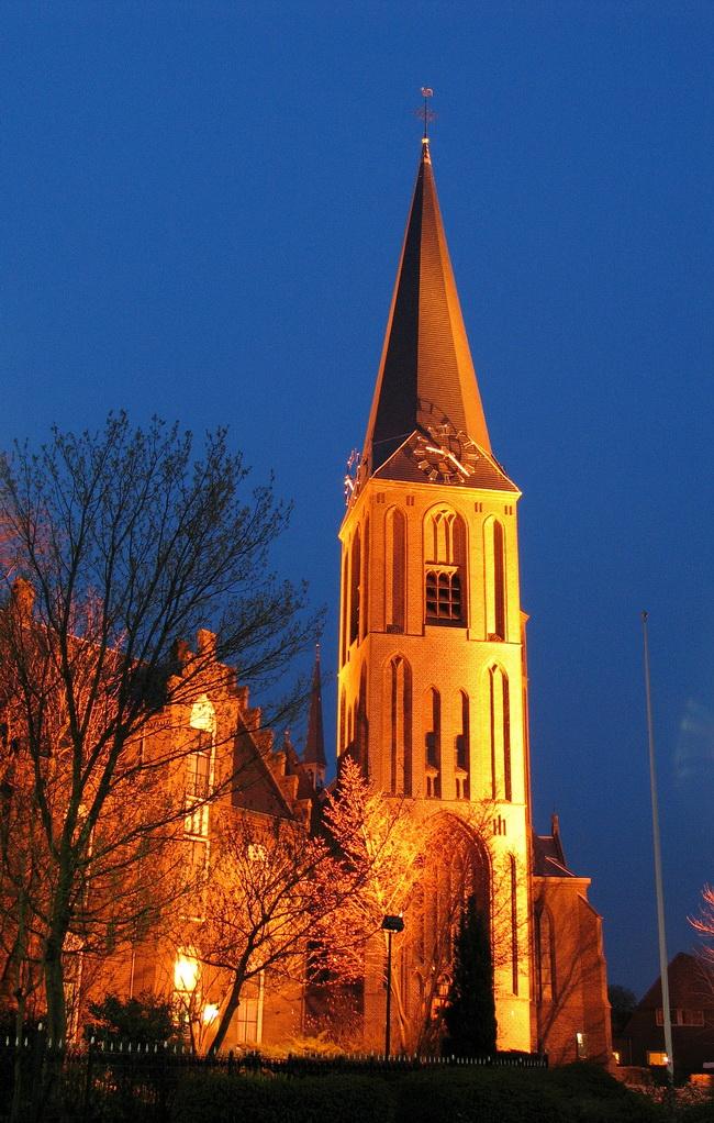 mijdrecht kerk westzijde avond 5630_650pix